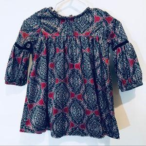 Jessica Simpson Velvet Long Sleeve Dress